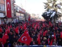 Bingöl'de PKK'ya tepki mitingi