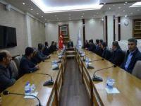 Muhtarlardan Vali Ahmet Deniz'e ziyaret