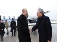 İçişleri Bakanı Soylu Batman Havalimanı'ndan Siirt'te gitti