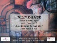 Ressam Tülin Kalmuk Resim Sergisi Açıldı