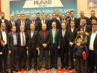 MÜSİAD Mardin Şubesi'nin 6'ncı Olağan Genel Kurulu yapıldı