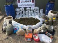 Lice'de 300 kilo uyuşturucu ele geçirildi