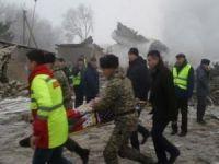 Kargo Uçağımız Bişkek'te Düştü