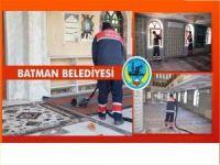 Batman'da camiler temizleniyor