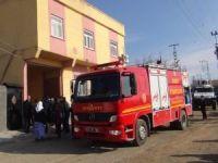 Çınar'da yangın mahalleliyi korkuttu