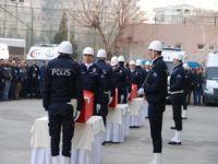 Diyarbakır'da polisler için tören