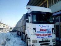 Konya'dan Şırnak halkına yardım