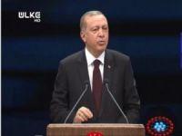 Erdoğan SGK binalarının açılışında konuşuyor