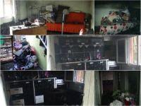 Çınar'da yanan evle ilgili ilginç ayrıntılar