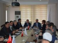 """AK Parti'den TÜMSİAD'a """"Hayırlı Olsun"""" ziyareti"""
