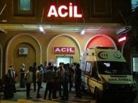 Mardin'de korkutan öğrenci servisi kazası