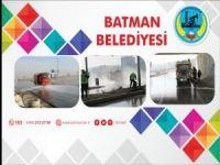 Batman'da temizlik çalışmaları devam ediyor