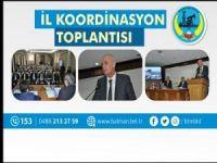 Aksoy, İl Koordinasyon Kurulu toplantısına katıldı