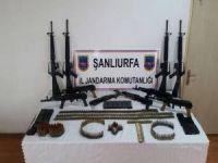 Şanlıurfa'da gömülü silah ve mühimmat