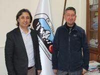 Rıdvan Şükür, Dağcılık Federasyonu'nun misafiri oldu