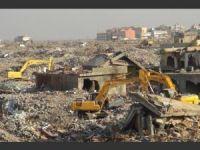 İşte Nusaybin'de yıkım manzaraları!