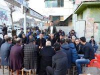 Vali Ahmet Deniz'den esnaf ziyareti