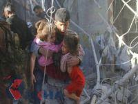 Suriye'de hava saldırısında 6 çocuk katledildi