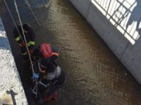 Su kanalında erkek cesedi