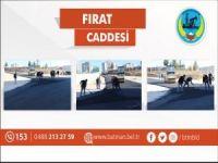 Fırat Caddesi asfaltlanıyor