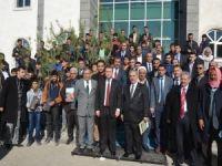 Viranşehir'de 'Bir öğrenci bir fidan' kampanyası
