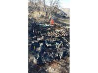PKK'ya ait silah ve mühimmat bulundu