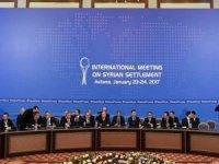 Astana'da Görüşmeler Başladı
