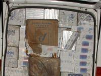 Muş'ta kaçak sigara operasyonu