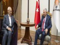 Başbakan Yıldırım el-Gannuşi'yi kabul etti