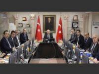 Mardin'de belediye başkanları bir araya geldi