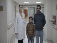 Iraklı minik Ali sağlığına kavuştu