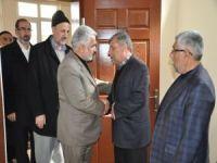 Yapıcıoğlu, Gümüş ailesine taziye ziyaretinde bulundu