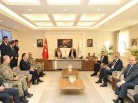 Bakan Soylu'dan Başkan Şahin'e ziyaret