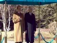 Pakistan Başbakanı Şerif Çankaya Köşkünde