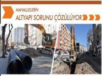 Mahallelerin altyapı sorunu çözülüyor