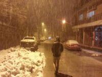 Bitlis ve Hakkâri için yoğun kar yağışı uyarısı