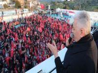 Başbakan Yıldırım, Çanakkale Ayvacık'ta konuştu