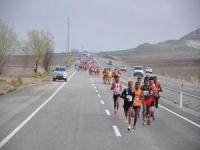 Batman'da Birinci Uluslararası Yarı Maratonu yapıldı