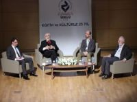"""YEKÜV Kuruluşunun 25. Yılında """"Eğitim ve Kültürle 25 Yıl"""" Paneli düzenledi"""