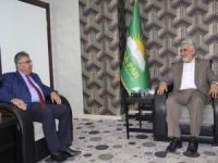 KDP Birlik İnisiyatifinden HÜDA PAR'a ziyaret