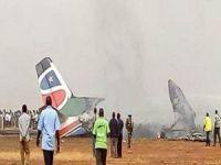 Güney Sudan'da yolcu uçağı faciası