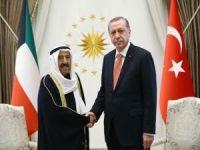 Kuveyt Emiri El Sabah Cumhurbaşkanlığı Külliyesinde