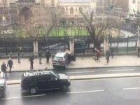 Londra Parlamentosu önünde silah sesleri