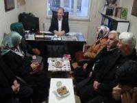 AK Parti'den Mustazaflar Cemiyetine ziyaret
