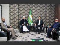 Cemaat-i İslami'den HÜDA PAR'a ziyaret