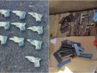 Şırnak'ta 11 ruhsatsız tabanca ele geçirildi