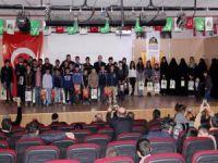 Van'daki Siyer Sınavı'nda dereceye girenler ödüllendirildi