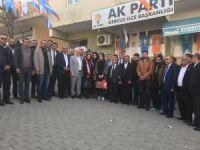 AK Parti Batman Teşkilatından ilçelerde 'EVET' çalışması