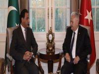 Başbakan Yıldırım, Pakistan Meclis Başkanını kabul etti