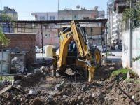 Mahalle sakinlerinin talebi ile metruk bina yıkıldı